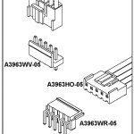 Conectores A3963 Series 3.96mm pitch PCB & SCH con Variantes