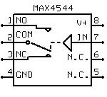 MAX4544