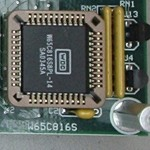Western Design Center W65C816S Microprocessor (PLCC44)