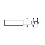 Connector - Male Stereo TRS Plug
