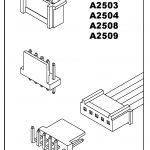 Conector SERIES A2503 A2504 A2508 A2509