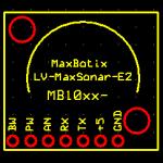 MaxBotix LV-MaxSonar-EZ PCB