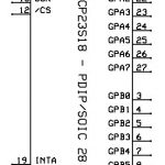 IC - Microchip - MCP23S18 - IO Expander - PDIP-SOIC-28