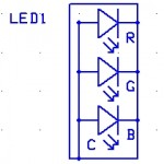 LED RGB Common anode