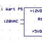 Power Supply, Wall Wart, +12V & +5V