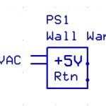 Power Supply, Wall Wart, 5V