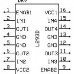 L293D - motor driver