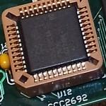 Philips/NXP SC26C92 Dual UART (PLCC-44)